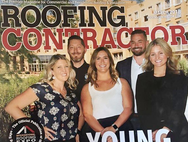 Tom Truelson named Roofing Contractor Young Gun 2017